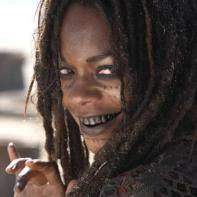 "Naomi Harris from ""Pirates of the Caribbean"" would be perfect for the role of The Swamp Witch with a little make up to make her even older. She certainly has the accent and voice for it."