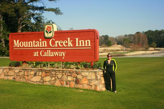 Or In The Hotel Across The Hwy It Used To Be A Holiday Inn Until Callaway Bought It It Has