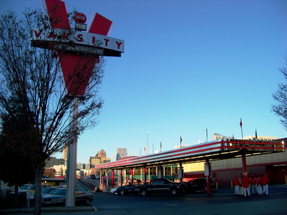 The Varsity in Atlanta: A Place That Would Serve Blacks in 1954, Outside. (1/6)